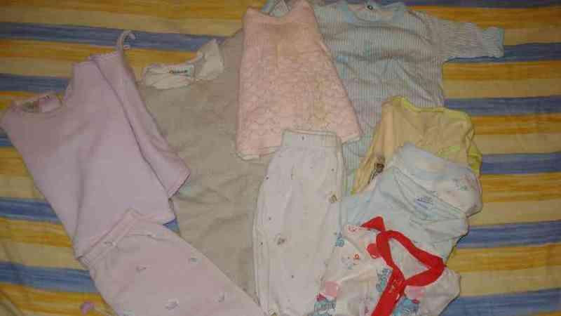Ropa de bebe 0_3 meses