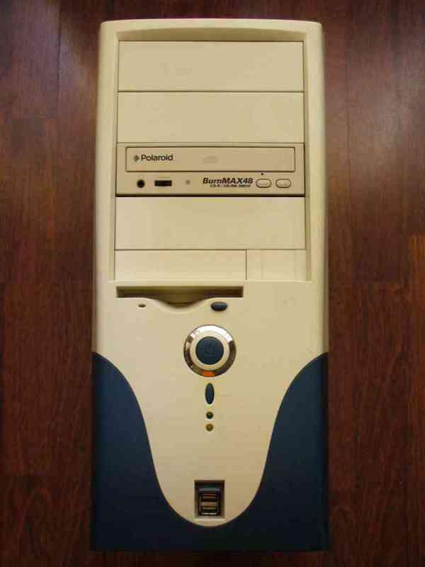 Caja de ordenador entregado a mariluz