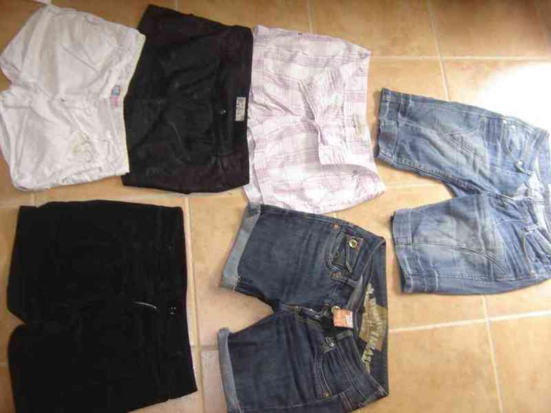 Pantalones cortos a naza