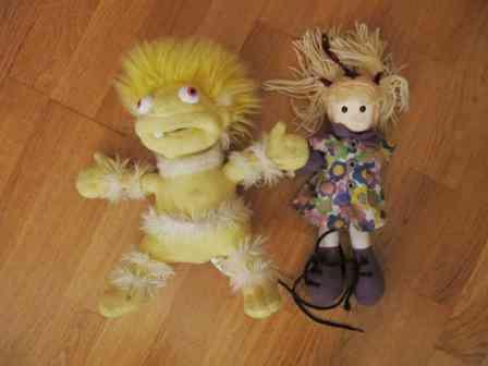2 muñecos ( leojanni)