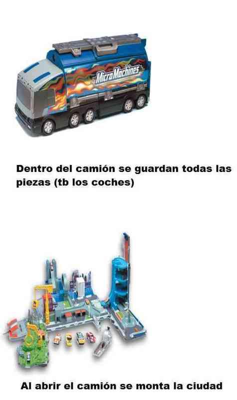 Camión micromachines de hasbro