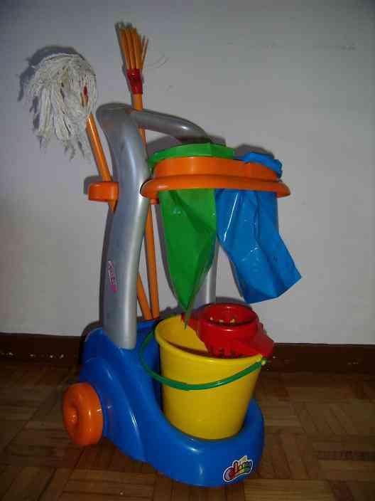 Juego limpieza niñ@