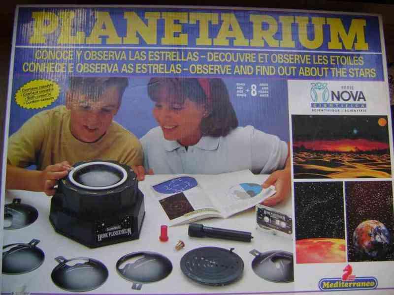 Juego de mesa planetarium de la serie nova