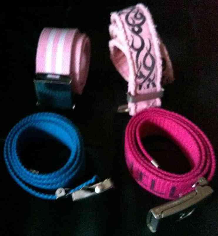 Cinturones varios