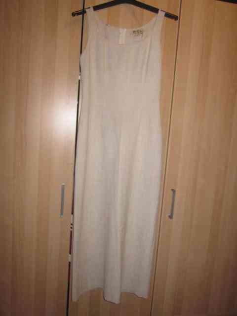 Vestido blanco hueso talla 40