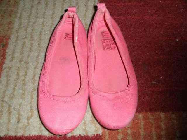 Bailarinas rosa fucsia 33 zara en tela