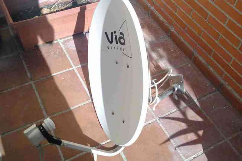 Antena vía digital