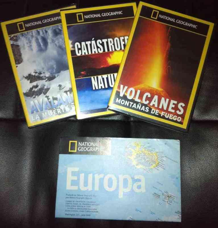 Mapa europa y dvds