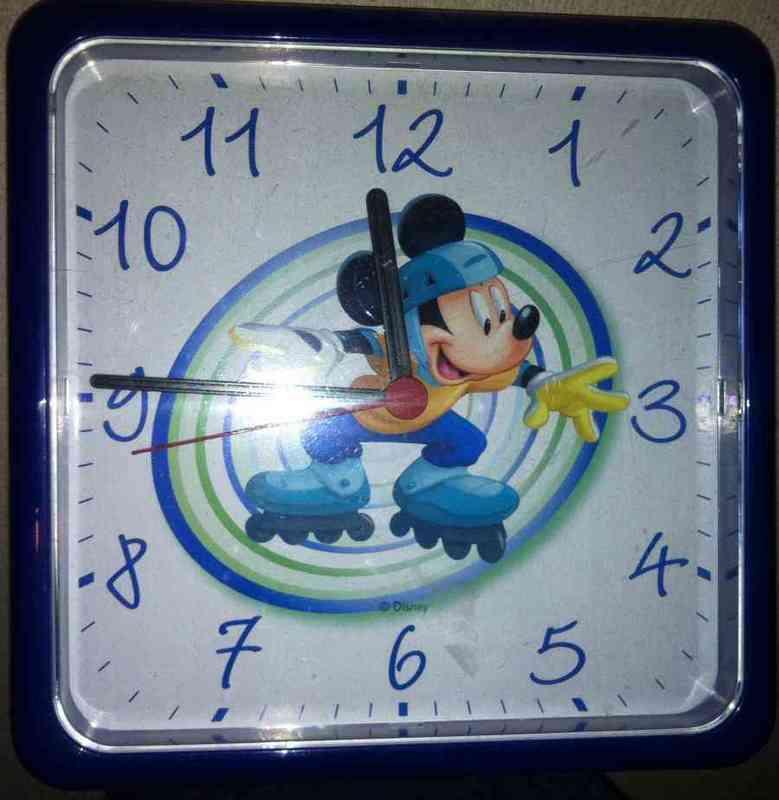 Reloj de mickey