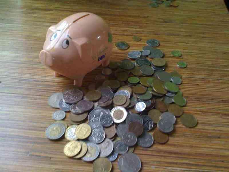 Cerdito relleno de monedas ( spaceboy1982)