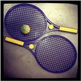 Raquetas de plástico para jugar