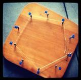 Tabla de madera para multiplicar
