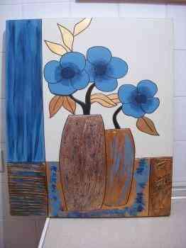 Cuadro flores 1