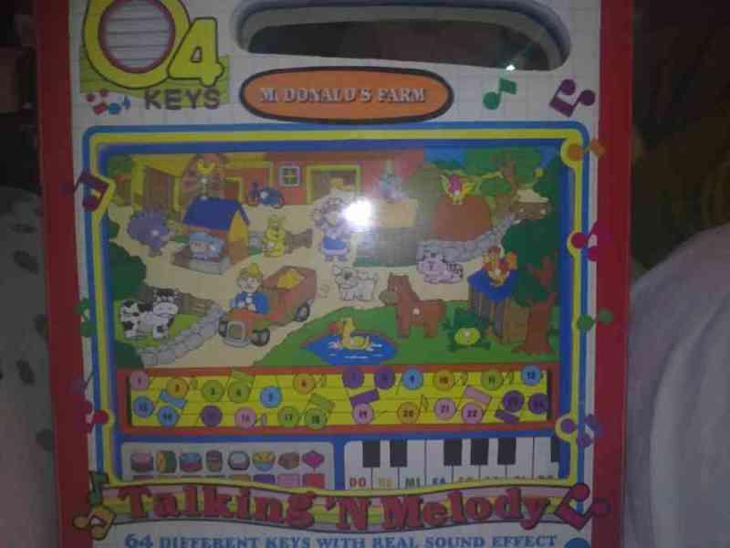 Piano granja infantil