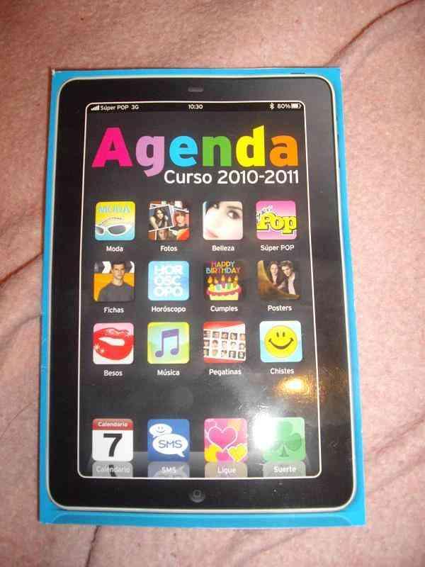 Agenda revista superpop 2010/2011