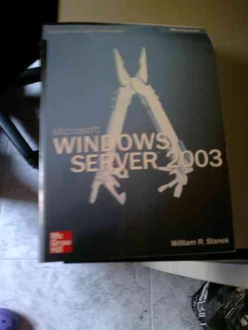 Libro sobre windows 2003