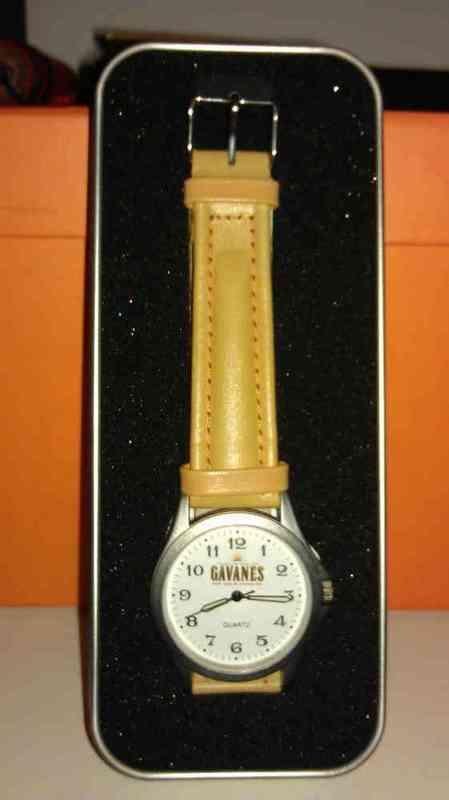 Reloj promocional del ron gavanes