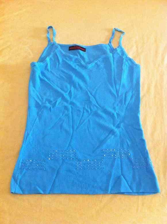 Camiseta talla s azul turquesa (nuriaben)