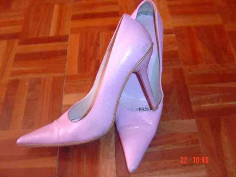 Regalo zapatos tacon rosa chile. pame