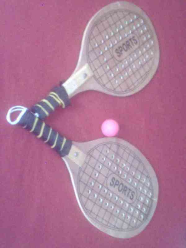 Raquetas tenis de playa