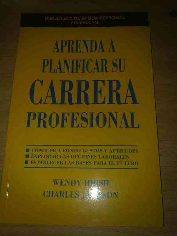 Libro carrera profesional