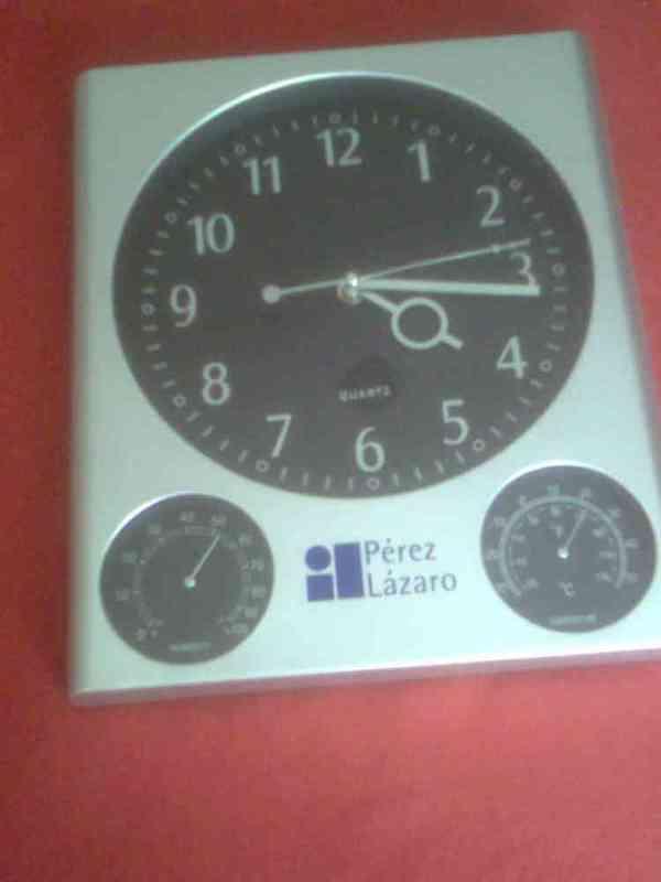 Regalo reloj de pared