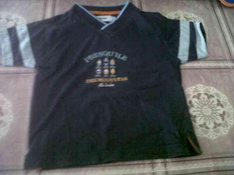 Camiseta de niño talla 4a(leojani)ños