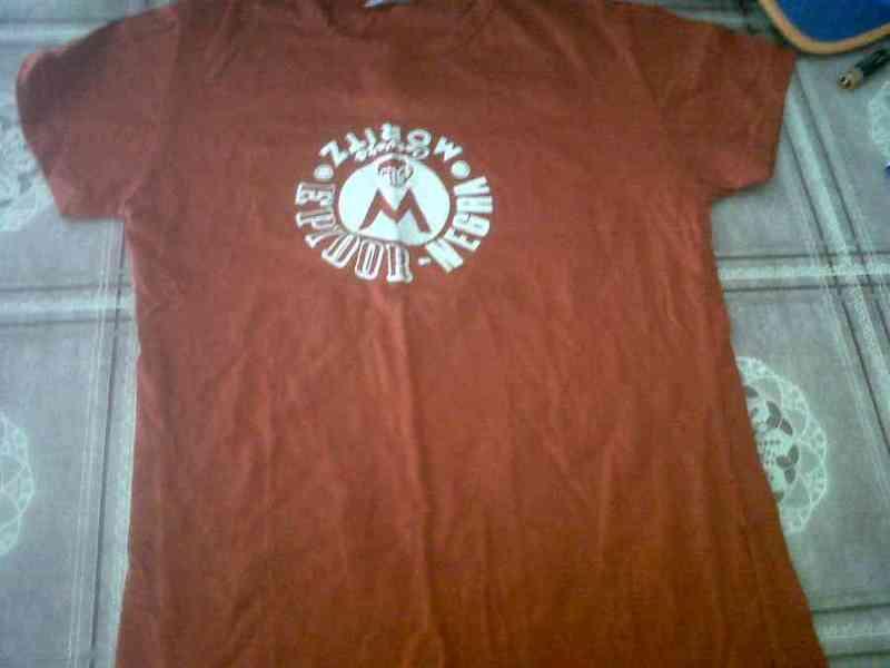 Camiseta unisex talla m(una)