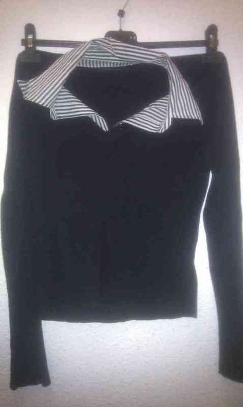 Sweater color negro talla m (any36)