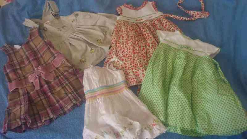 Vestiditos  1-2 años