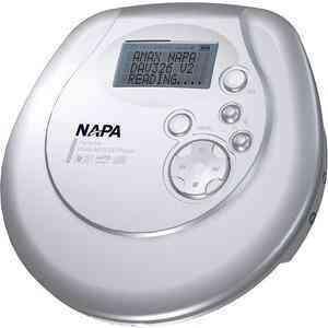 Reproductor de cd, wma-mp3 napa dav-326