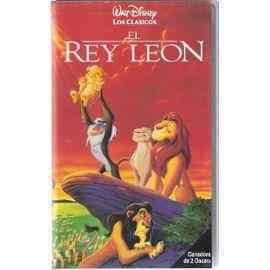 """Película vhs """"el rey león"""""""