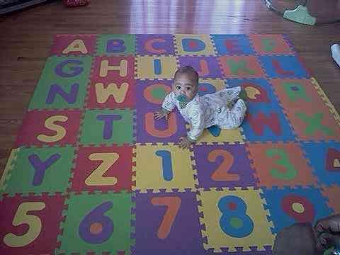 Puzzle para el suelo para bebes