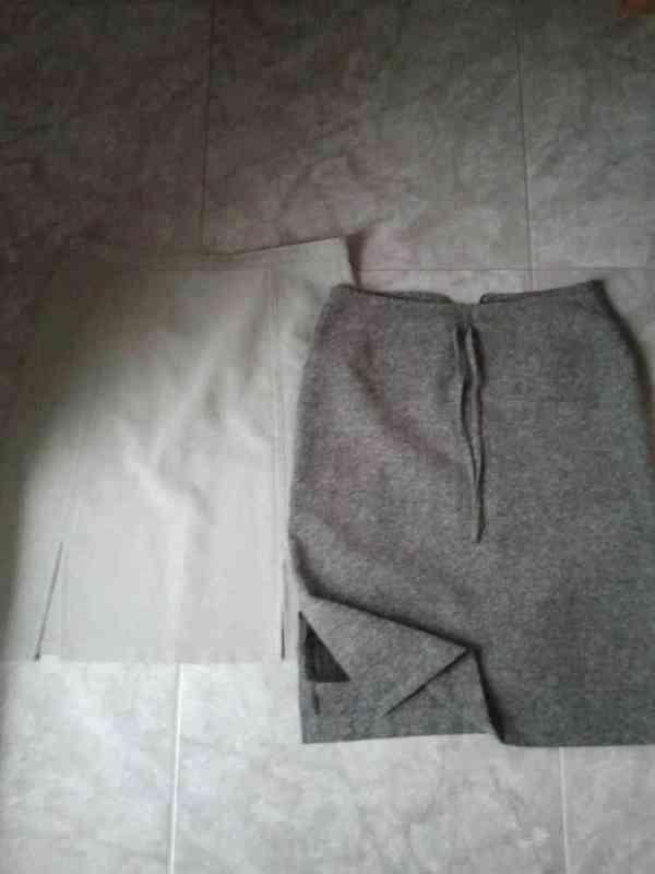 2 faldas de tubo