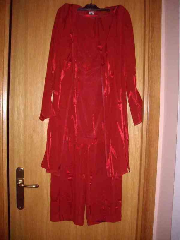Conjunto rojo 3 piezas (chavalier)