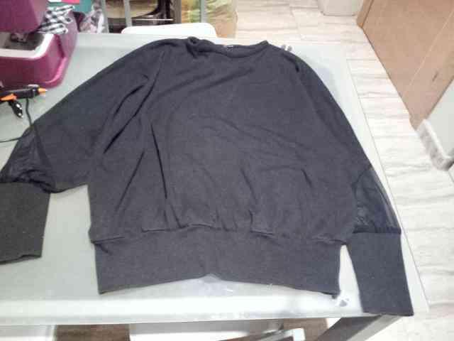 Jersey negro talla xll