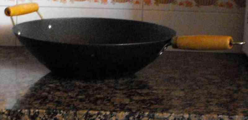 Wok cocina