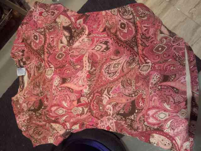 Camiseta chica talla m-l rosa chocolate (lisa)