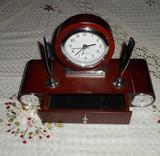 Reloj de escritorio a namasté