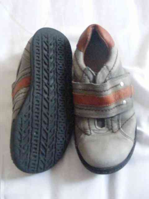 Zapatos de niño piel