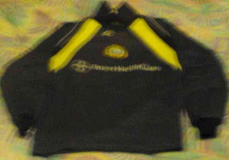 Camiseta portero futbol masnou talla10