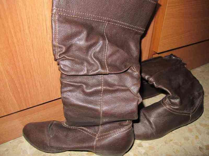 Botas de color marron t.36