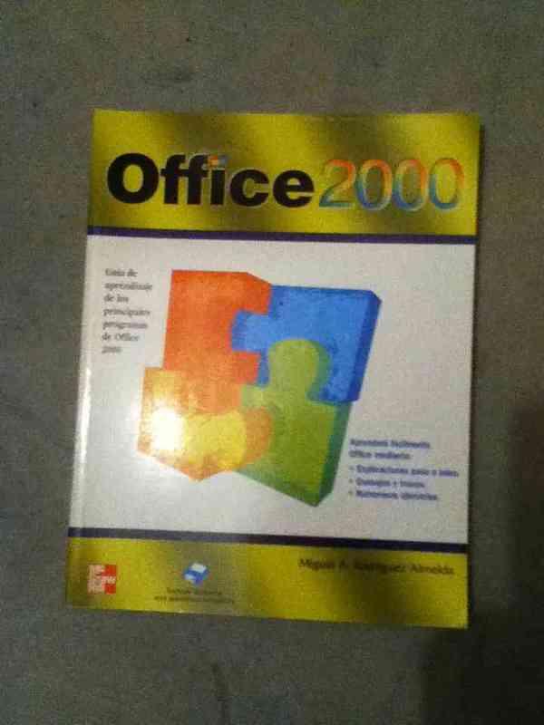 Libro de oficce 2000 nuevo