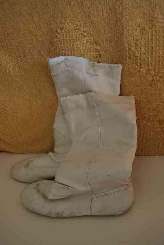 Botas blancas talla 41