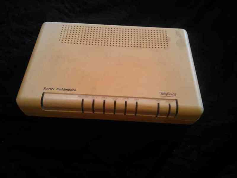 Router inalámbrico telefónica