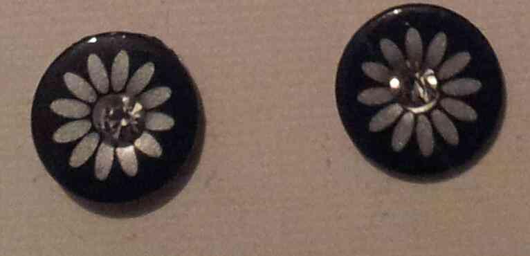 Pendientes flor (gabrielaf)