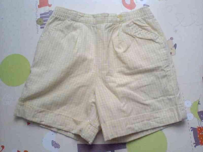 Pantalón corto 2 años