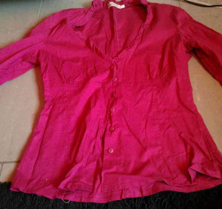 Camisa rosada t. 40-42