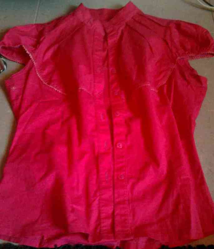 Camisa rosada t-40