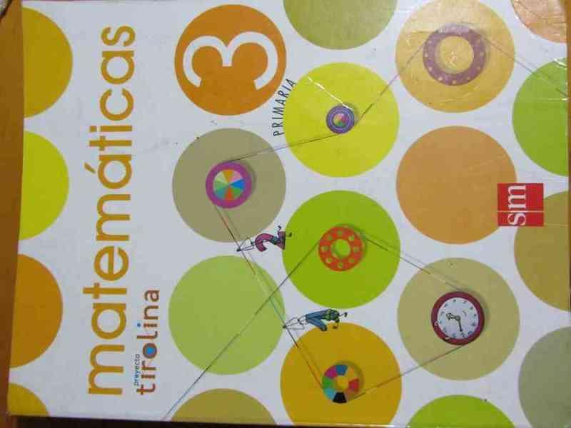 Libro matemáticas 3º